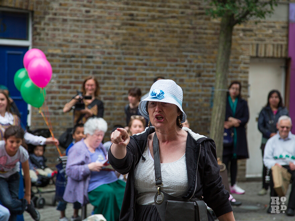 Bow Drama Group at Roman Road Festival 2014