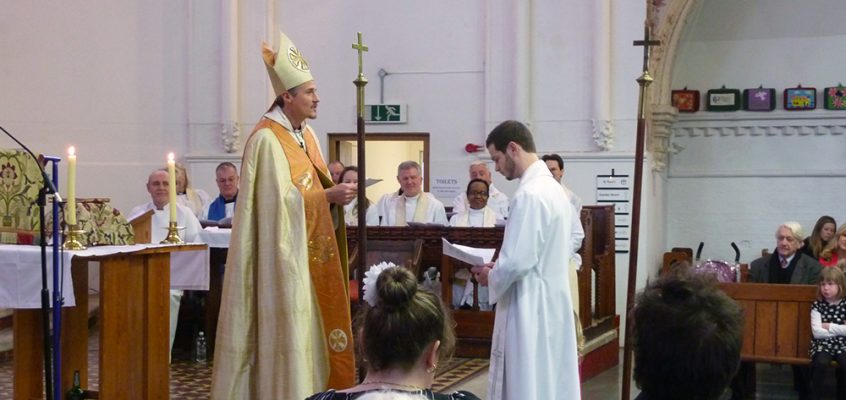 Installation of new Vicar at St Paul's Church