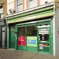 Green Londis shopfront on Roman Road