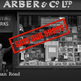 Save our shops: 459 Roman Road, formerly Arbers
