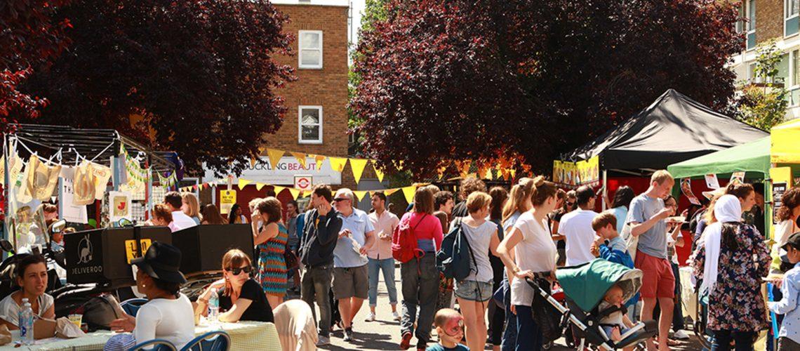 Roman Road Yard Market - Eid Party