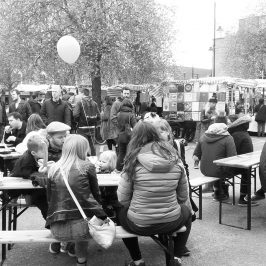 Roman Road Yard Market opening day success
