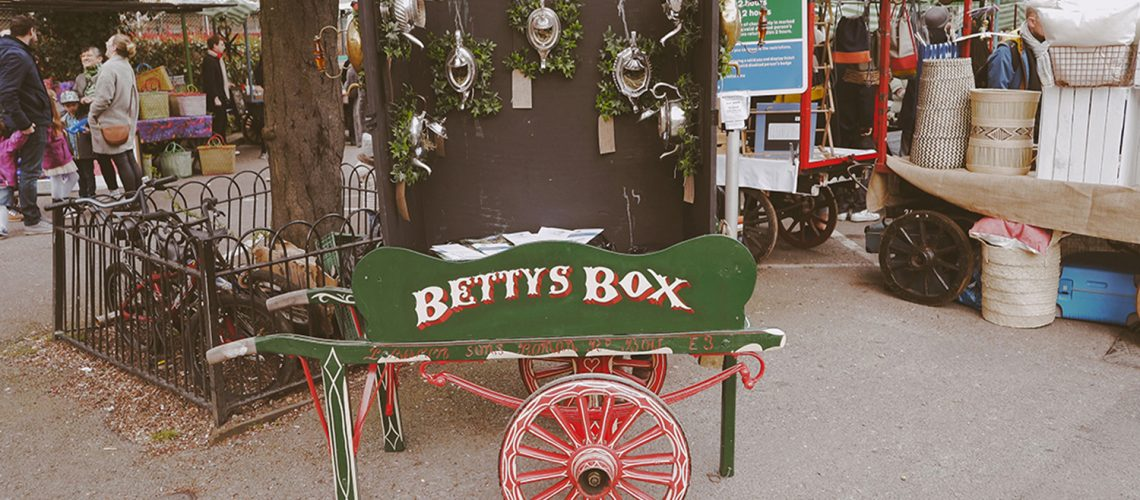 Betty's Box at Roman Road Yard Market launch event