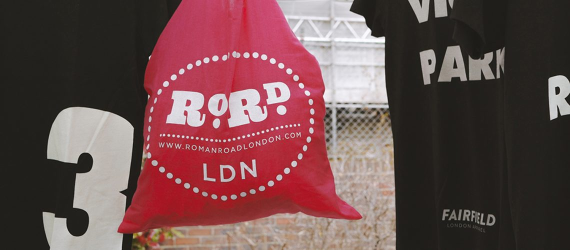 RoRd LDN cotton shopping tote bag
