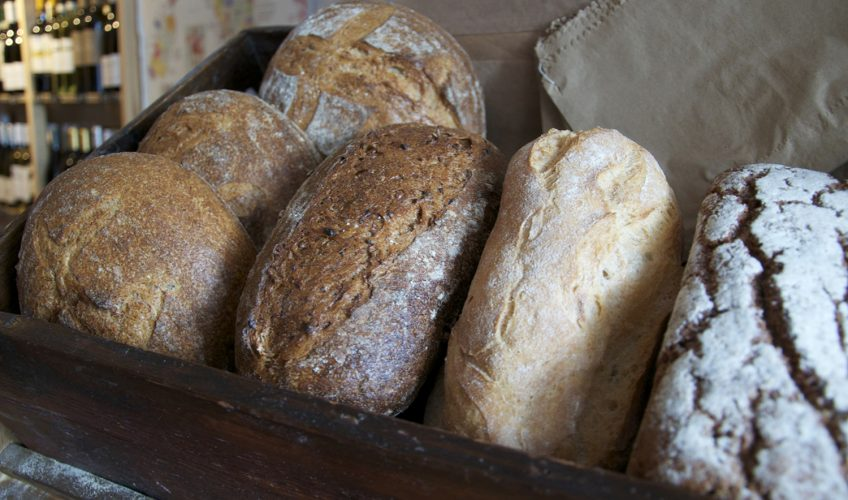 White Hat Bakery bread available at Vinarius Roman Road