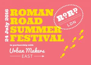 Roman Road Summer Festival 2016 flyer