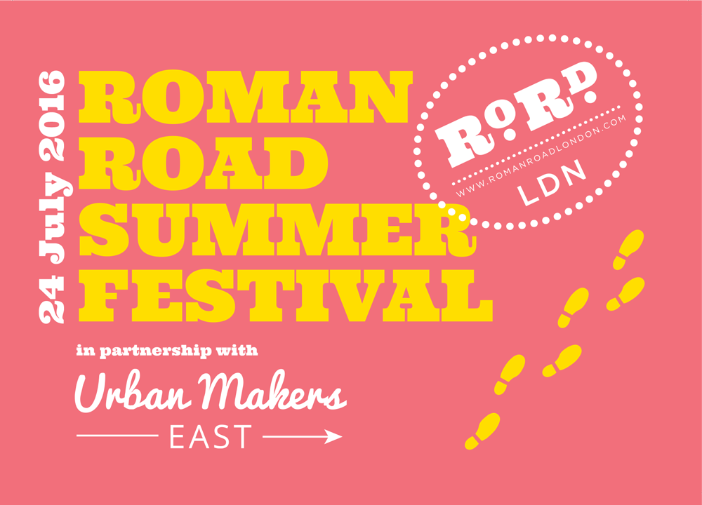 Roman Road Summer Festival 2016 flyer