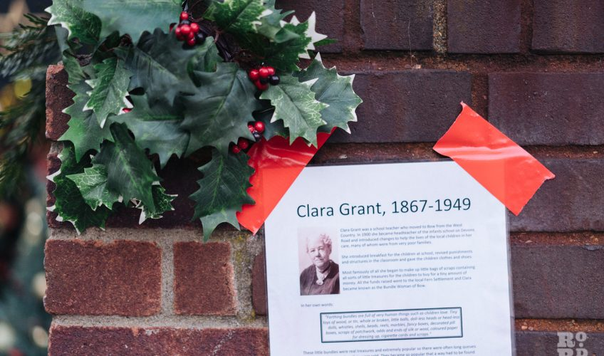 Clara Grant organised gifts for the children of the East End during the twentieth century.