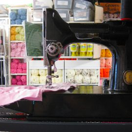 The sewing machine fixer: Robb Myers from Roman Road's Sew Amazing