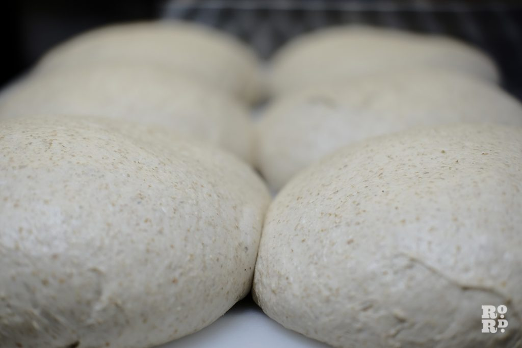 Sourdough before it goes in the oven