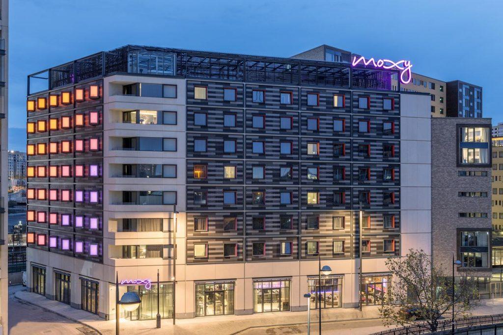 Moxy Hotel in Stratford