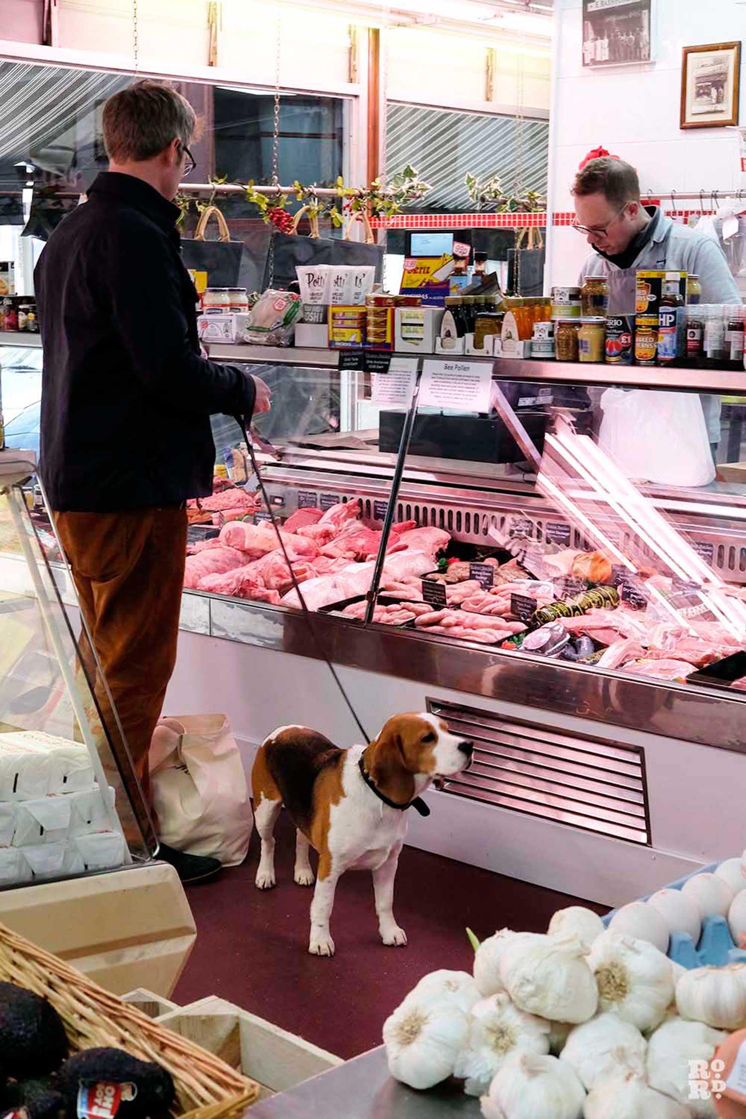 Gavin Peckover butcher Roman Road East London