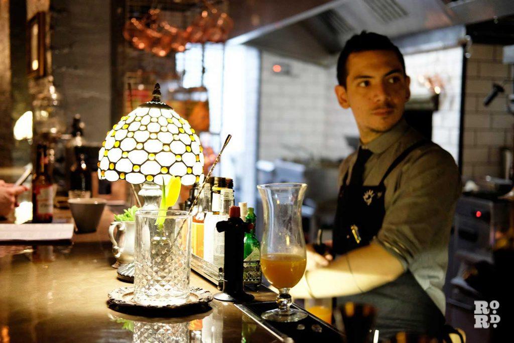 A Waiter at Nola