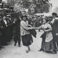 Bow Suffragette Minnie Lansbury