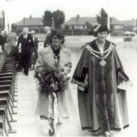 Bow Suffragette Daisy Parsons as Mayor