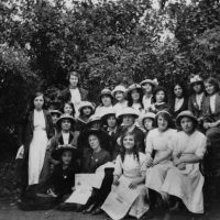 Junior Bow Suffragettes Victoria Park