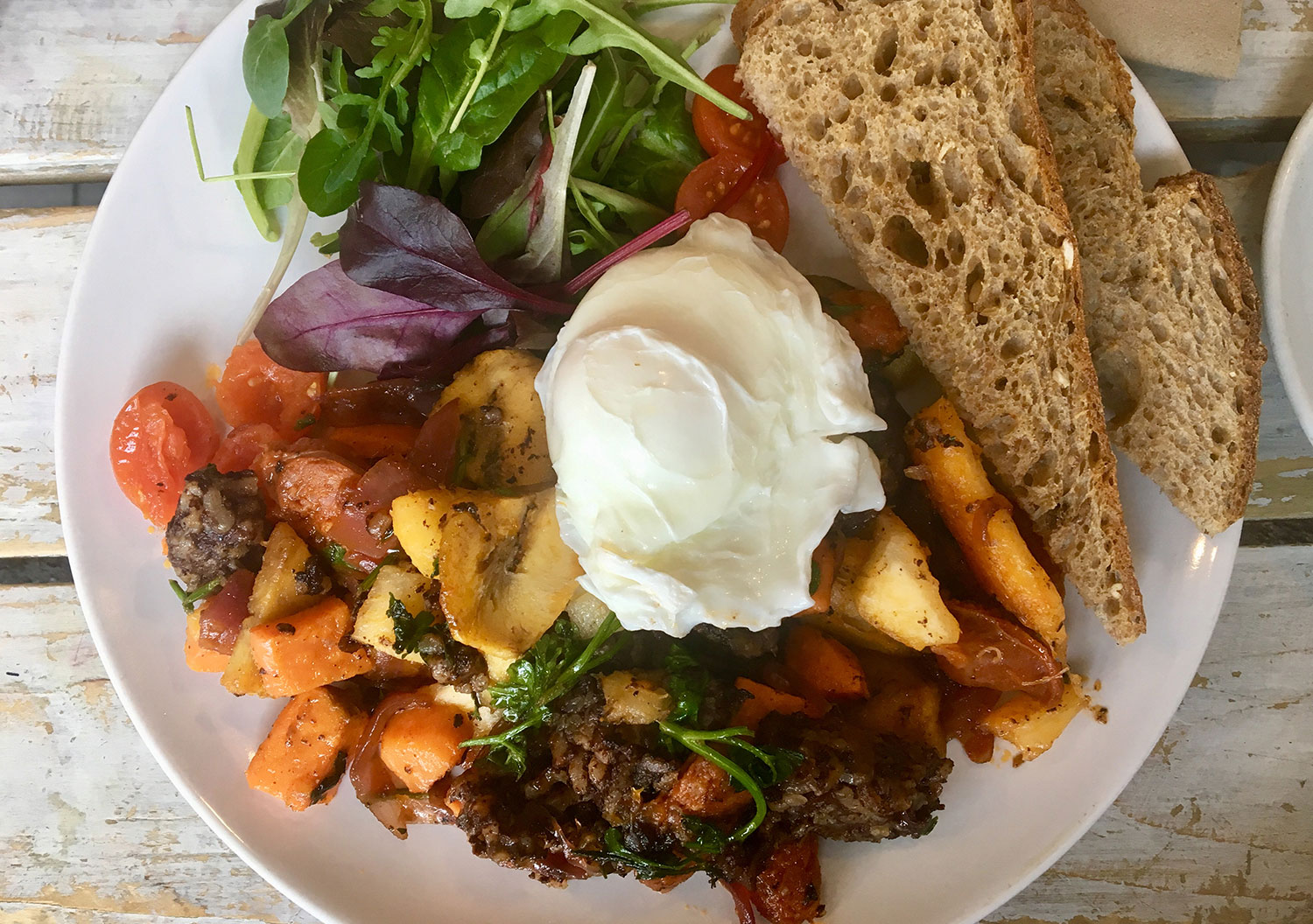 Muxima roman road brunch vegan vegetarian