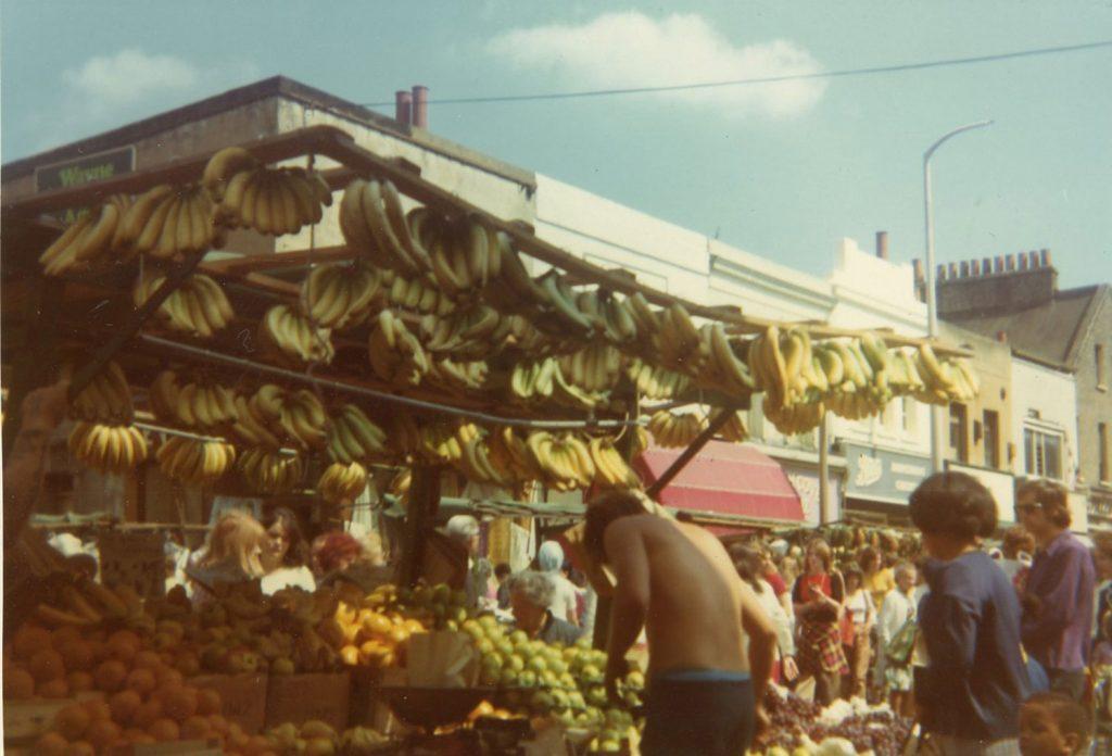 Bananas at Roman Road Market