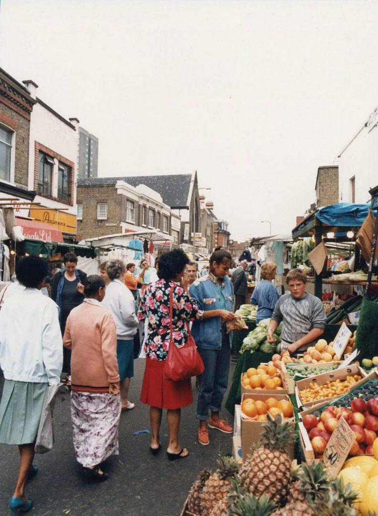 Fruit at Roman Road Market