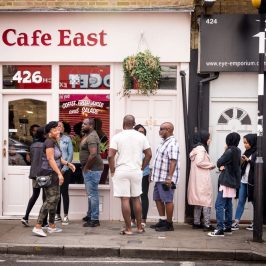Cafe East roman road bow