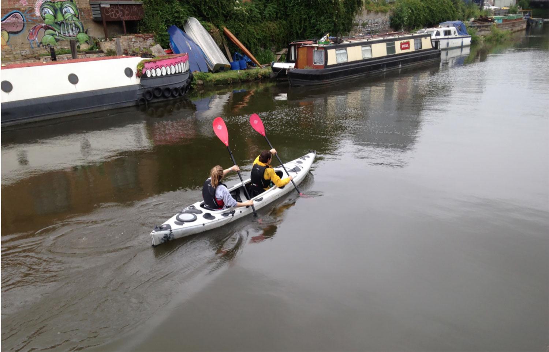 Moo Canoes at Hackney Wick