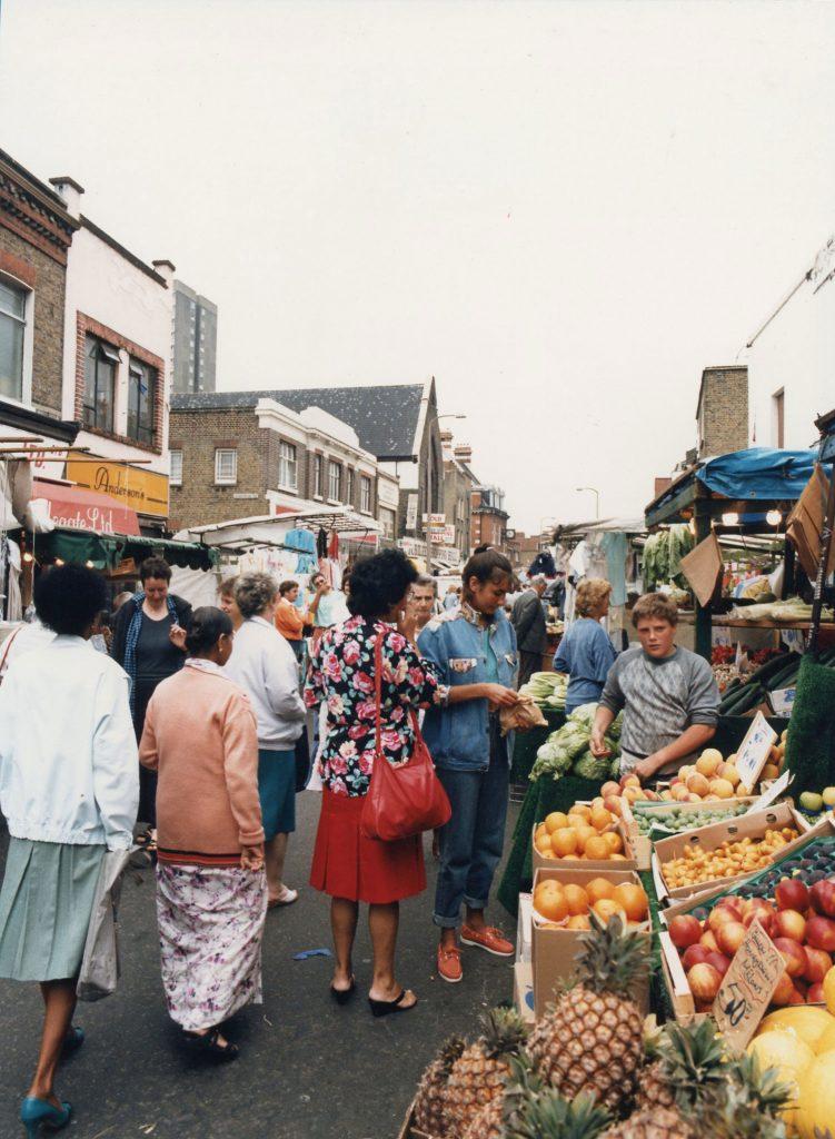 Roman Road Market Fruit Stall