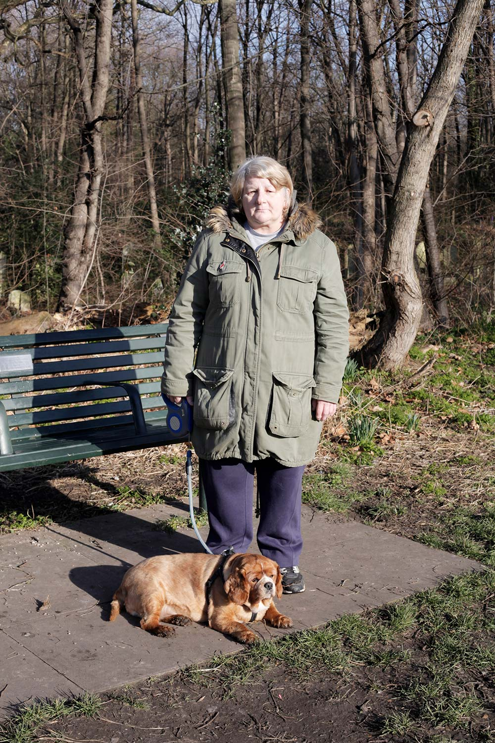 Sharon and Lucky Tower Hamlets Cemetery Park