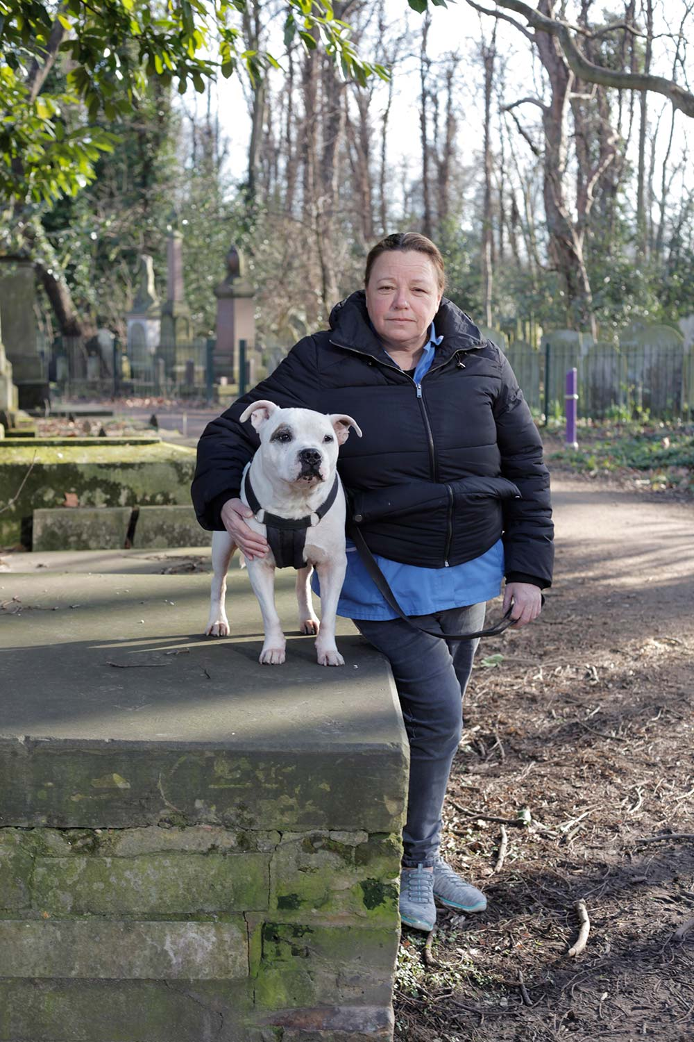 Tania and Patch Tower Hamlets Cemetery Park