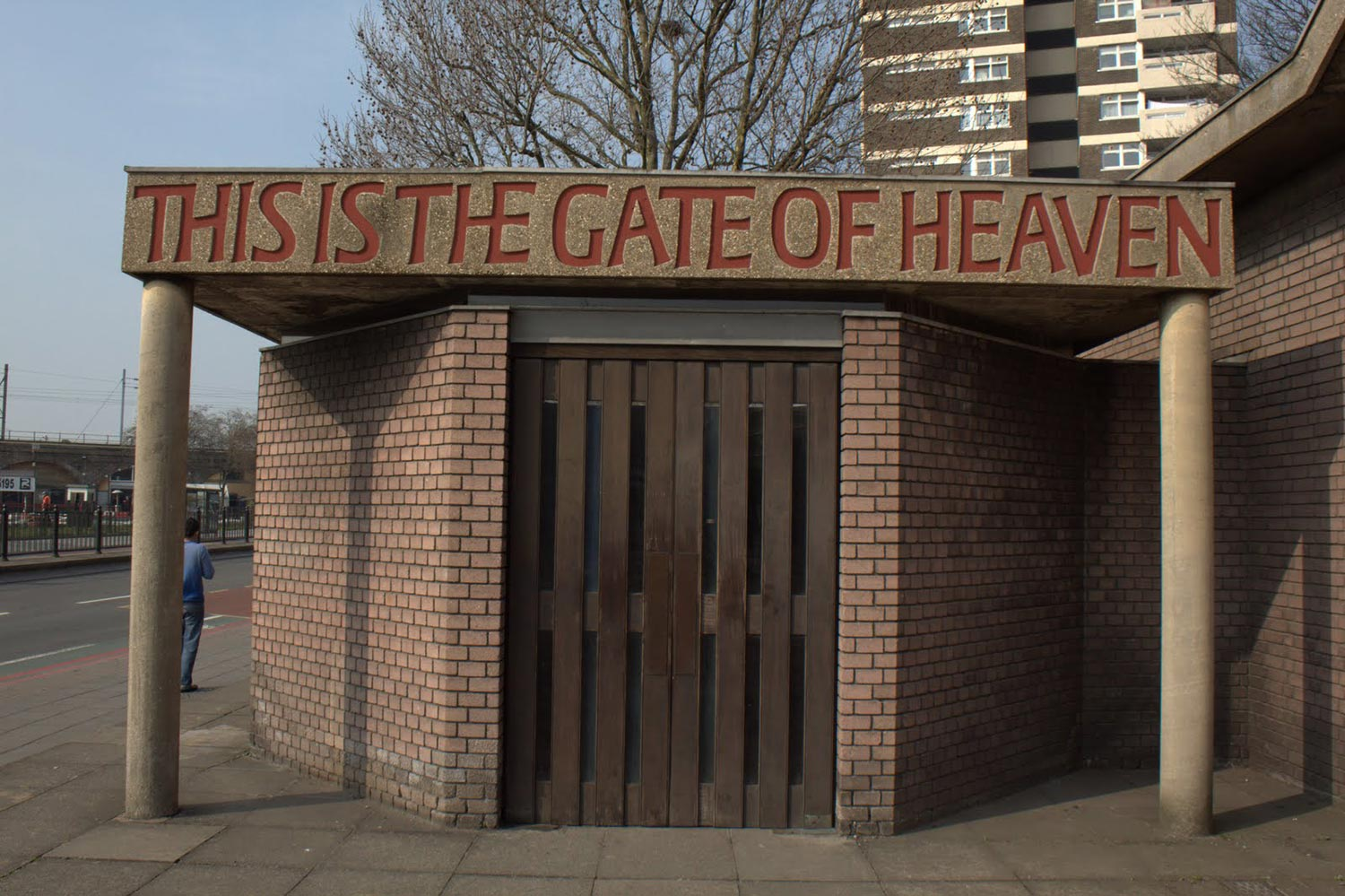 Burdett Road Gate of Heaven Mile End