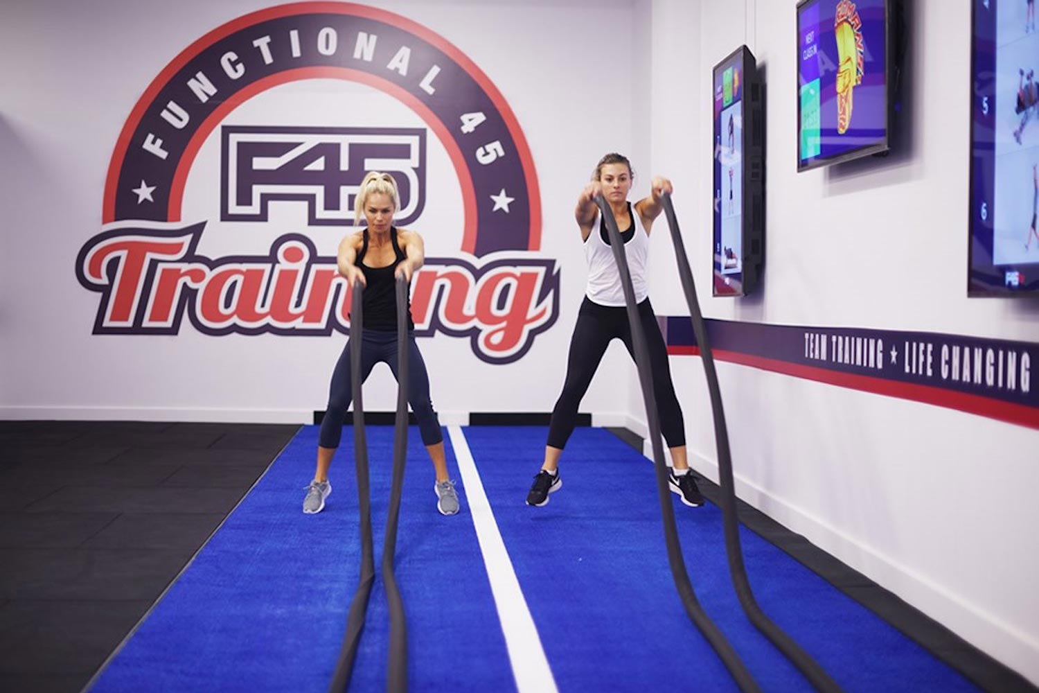 F45 Olympic Park fitness classes