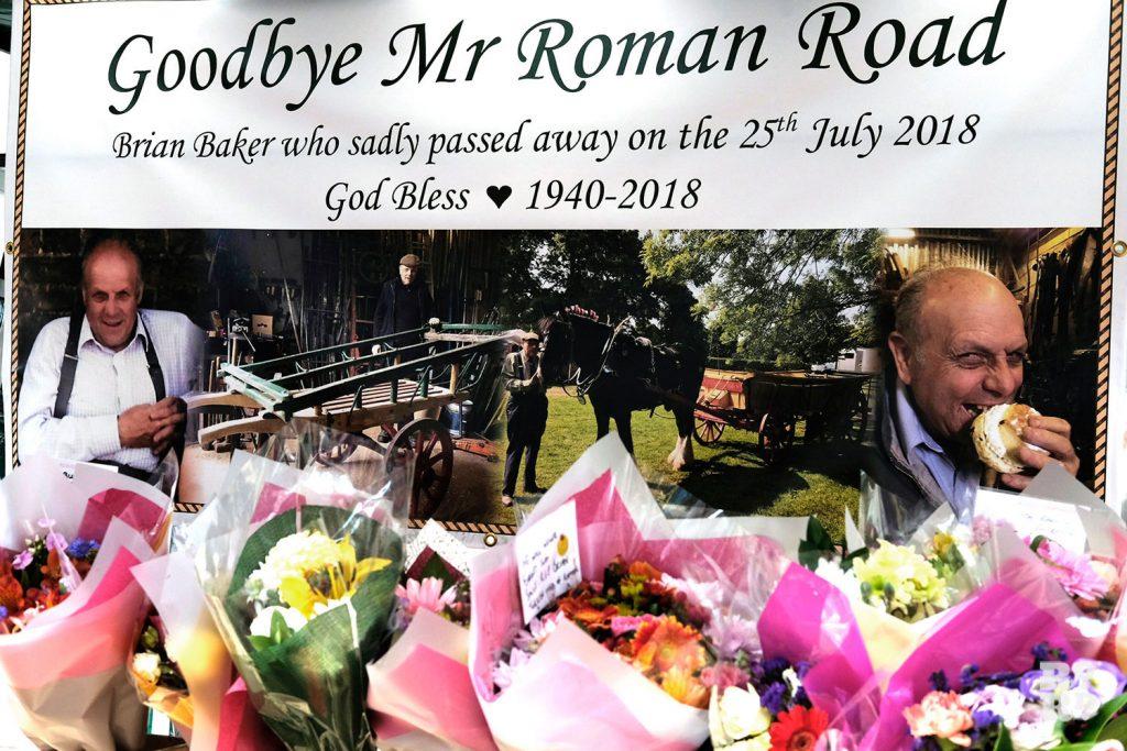Brian Baker tribute on Roman Road