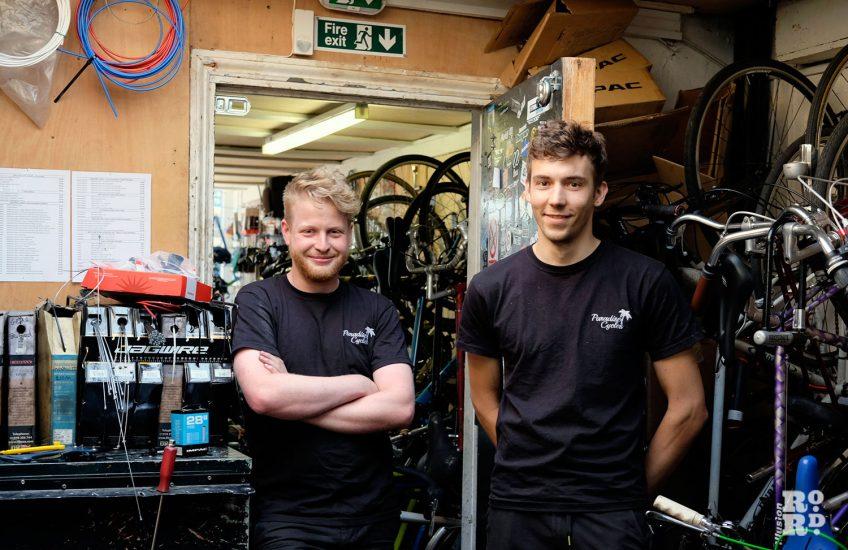 Paradise cycles roman road bike mechanics