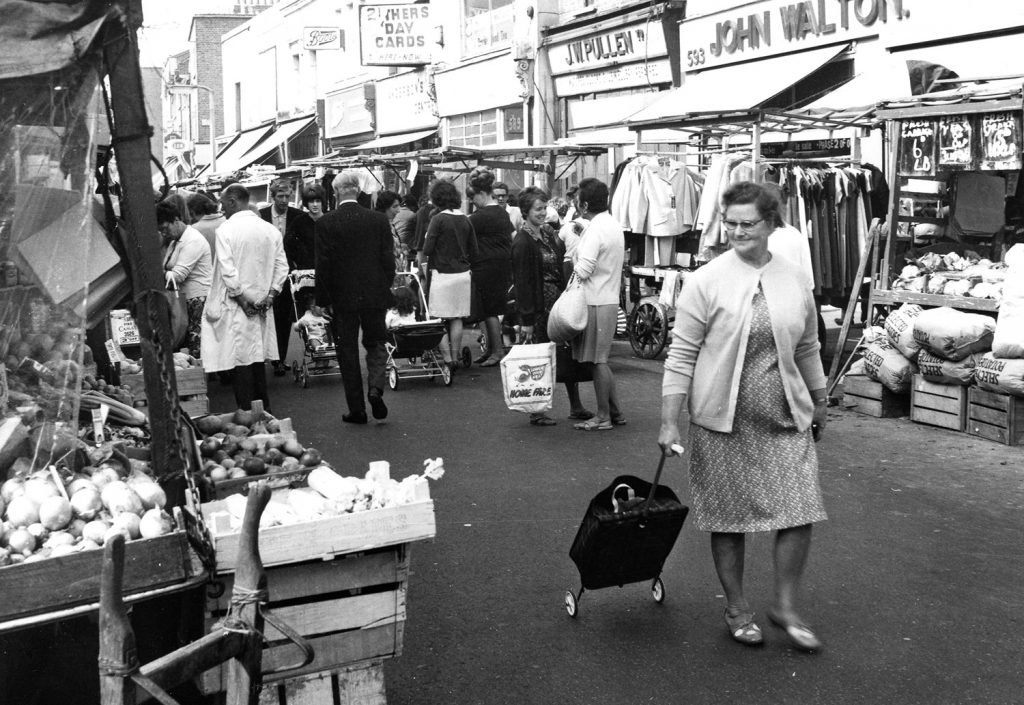 Photograph of the market, 1968