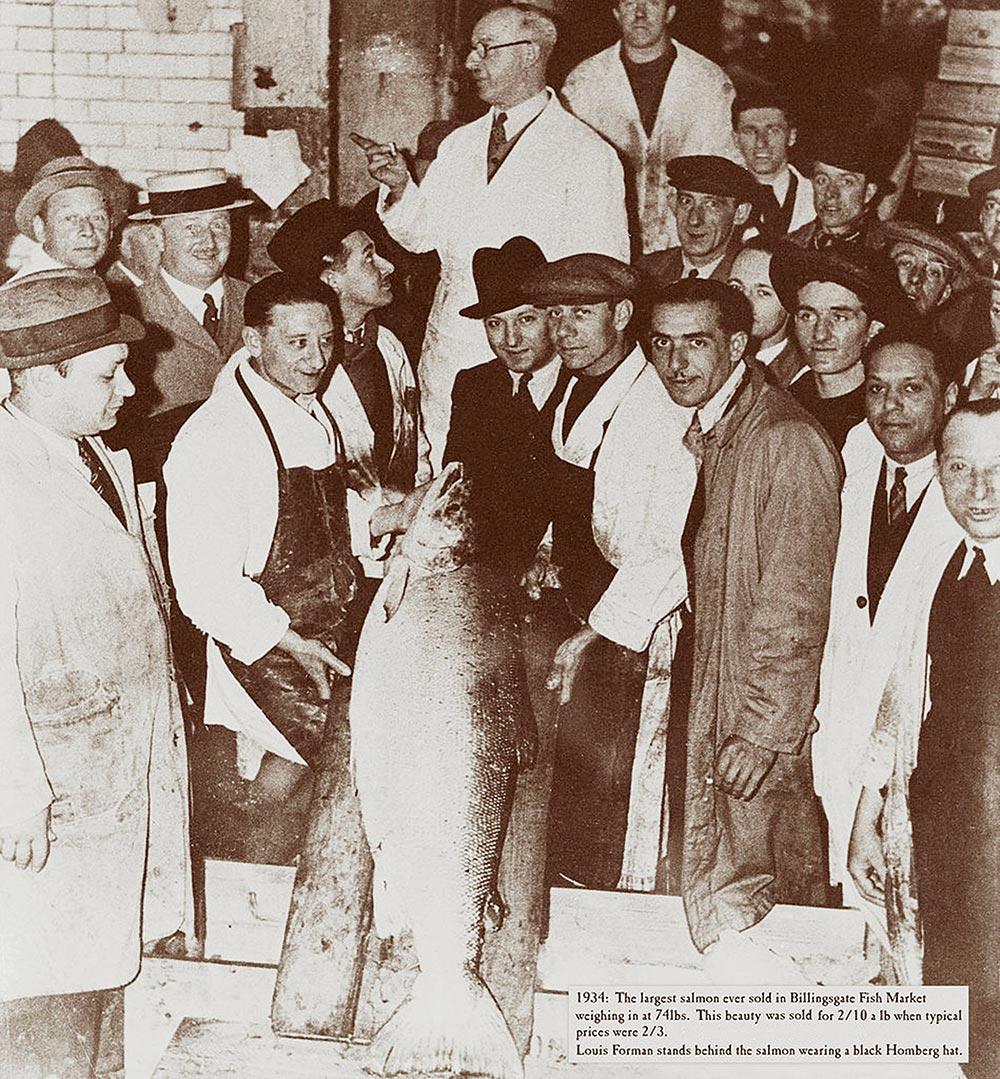 billingsgate fish market formans smoked salmon