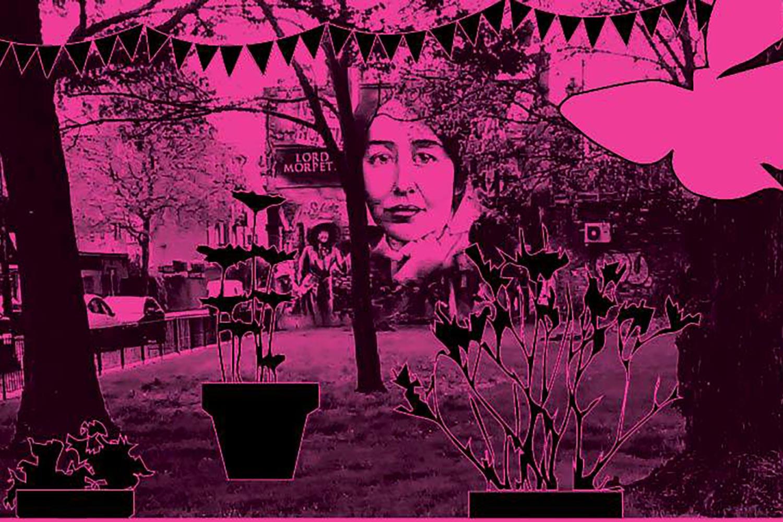Suffragette herb garden old ford road