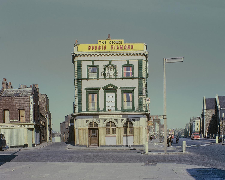 David Granick photograph of The George Tavern