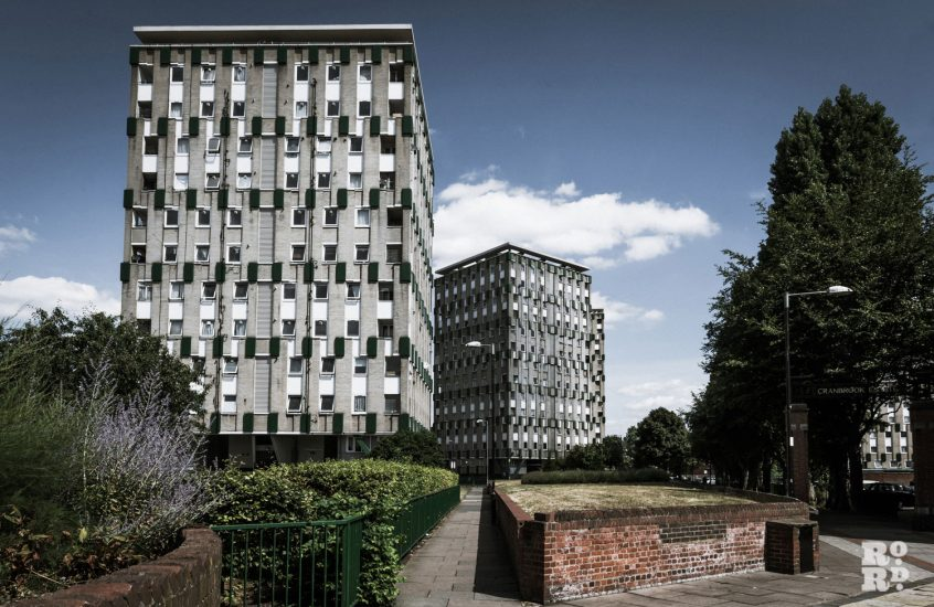 The history of the Cranbrook Estate, from slums to utopian post-war housing