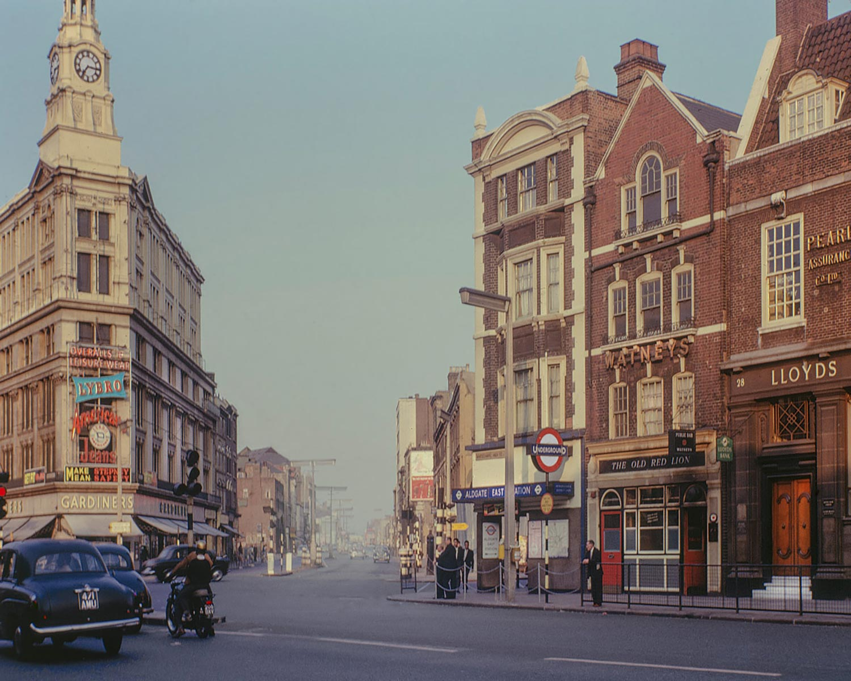 David Granick photograph of Gardiner's Department store