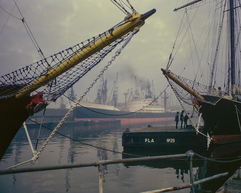 David Granick photograph of West India Dock
