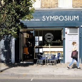 Symposium Italian deli and cafe on Roman Road