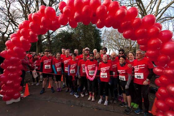 Positive East Red Run in Victoria Park