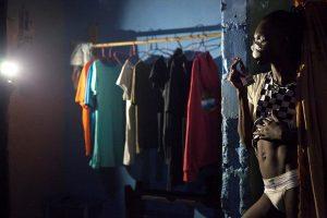 Young transgender man in Sierra Leone LGBTQ exhibition