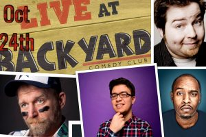 Help Refugees comedy fundraiser night at Backyard Comedy Club