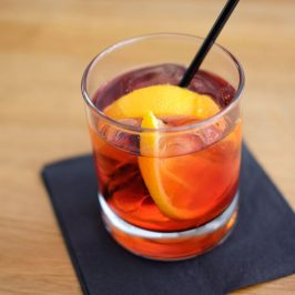Negroni cocktail by Symposium London