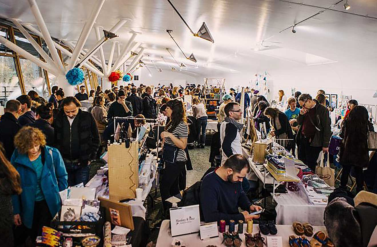 Urban Makers East's Christmas Market at Ecology Pavilion in Mile End Park