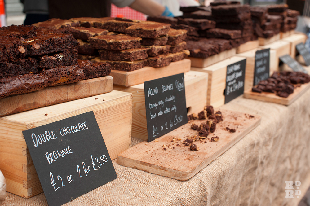 Delicious brownies from The Almond Kitchen