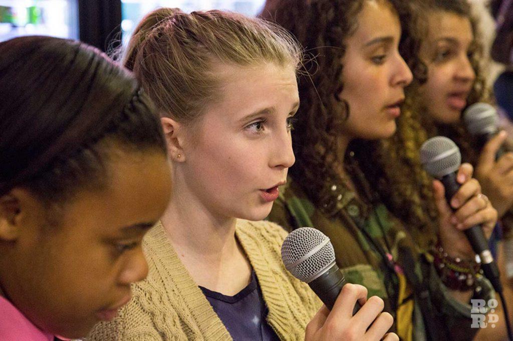 Tower Hamlets Secondary Borough Choir at Roman Road Festival
