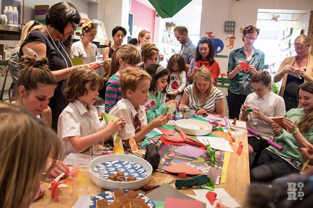 Create Make Origami Roman Road Festival