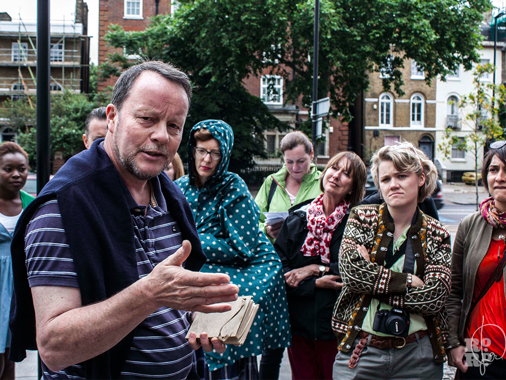 Alan Waltham East London Group trail Bow