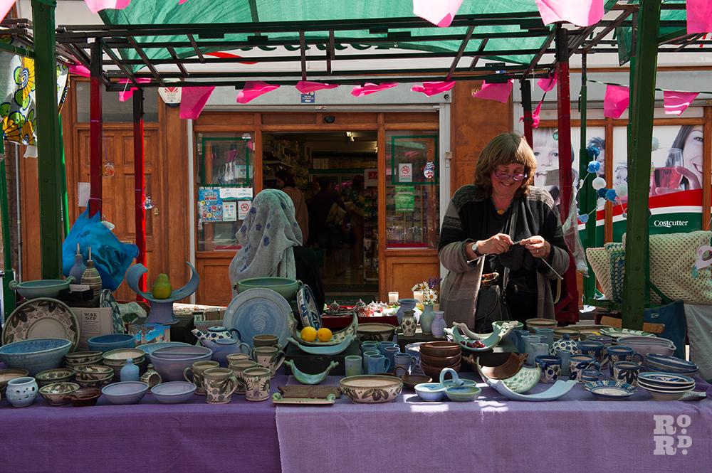 Caroline Bousfield Gregory pottery Roman Road Festival